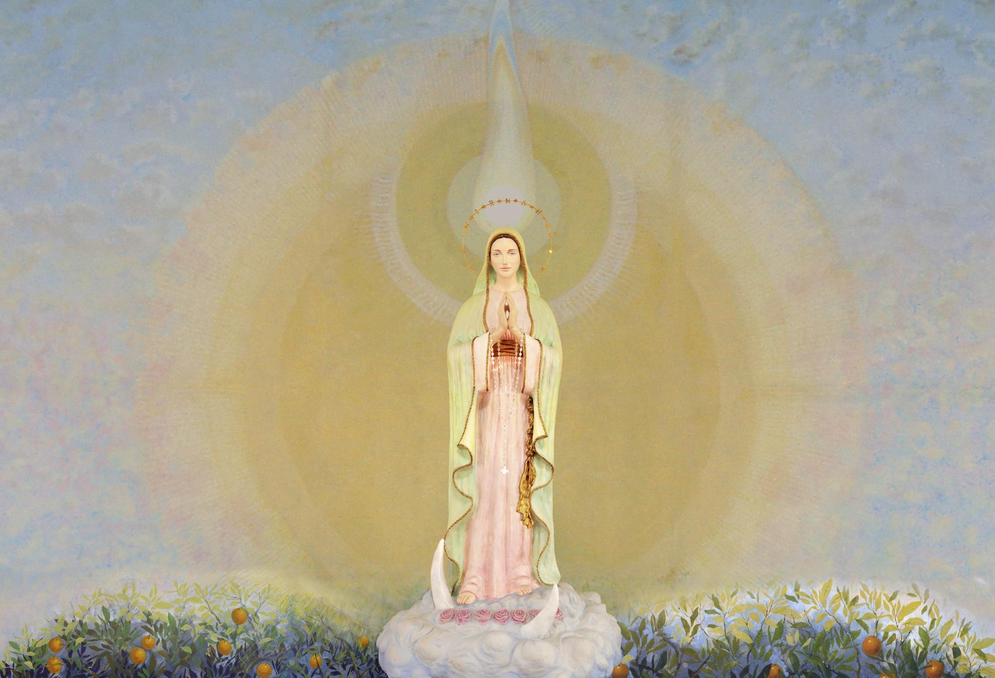 Imagens da virgem maria voz e eco dos mensageiros divinos - Divinos pucheros maria jose ...