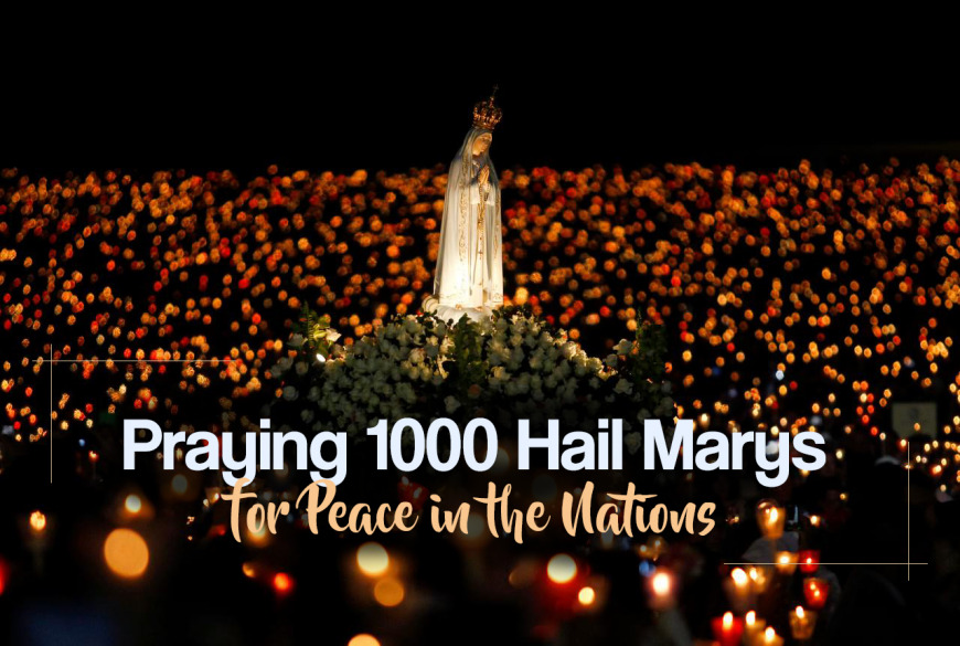 Praying 1,000 Hail Marys for Peace in the Nations | Voice