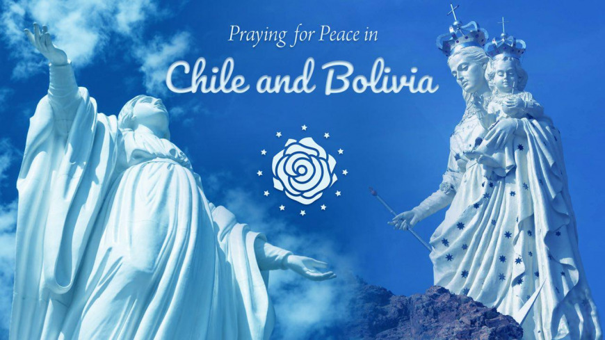 Praying for Peace in Chile and Bolivia | Voice and Echo of the