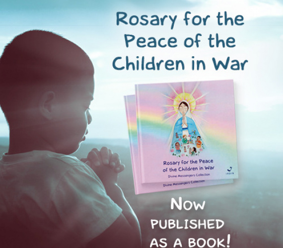 Rosary for the Peace of the Children in War - Book